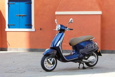 Vespa Primavera on the streets